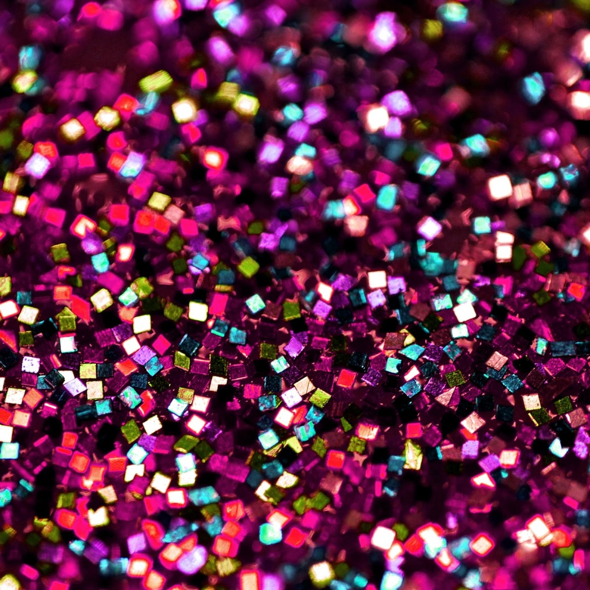 Roll it in glitter, make it look pretty!