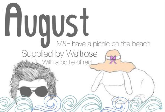 august date card